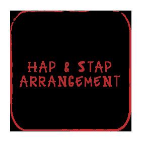 Hap & Stap Arrangement