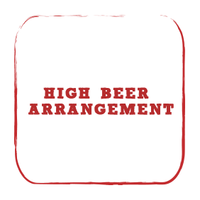 High Beer Arrangement